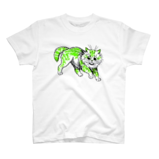 ルイス・ウェインのねこ T-shirts