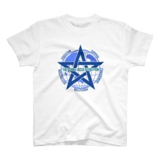 GOCロゴグッズ-文字入りシンプル[SCP Foundation] T-shirts