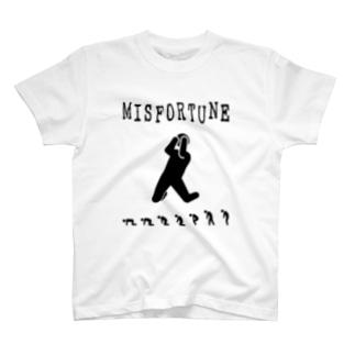 MISFORTUNE-BK T-shirts