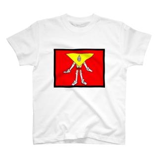 元気出してくれるトラマン T-shirts