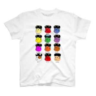 おに12(トゥエルブ) T-shirts