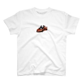 クルマのイラスト T-shirts
