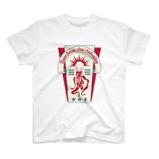 疫病退散・角大師(元三大師)TシャツB T-shirts
