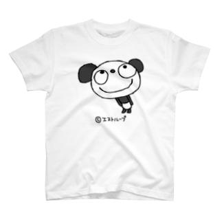 ふんわかパンダ よろしくT T-shirts