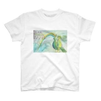 鳥と城 T-shirts