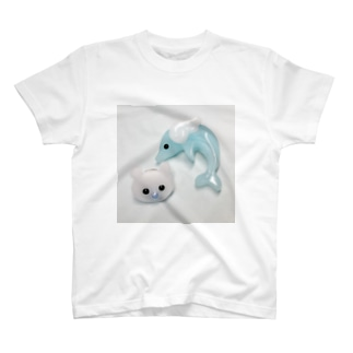 ちびべびちゃんと天使ないるかちゃん T-shirts