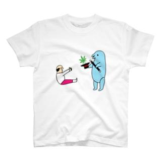 花くまゆうさくの手品 T-shirts
