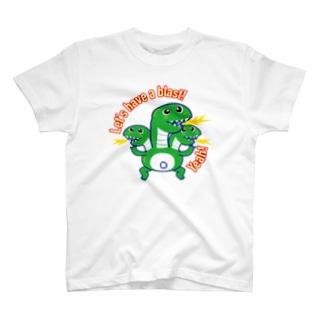 陽気な怪獣ヤマさん T-shirts