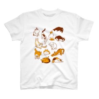 雲猫 T-shirts
