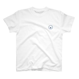 ラッッッコ「ワンポイント(顔アイコン)」 T-shirts