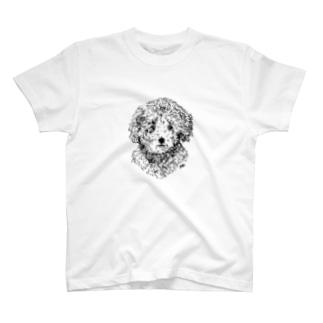 トイプードルのこたちゃん T-shirts