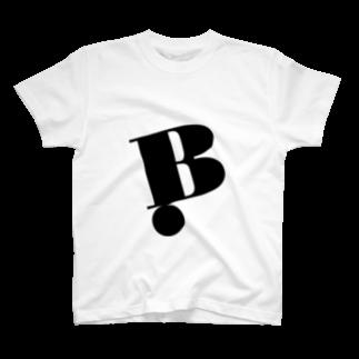 菅原商店 - Bread LabelのType Gravity - B T-shirts