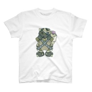 病みタヌキ T-shirts