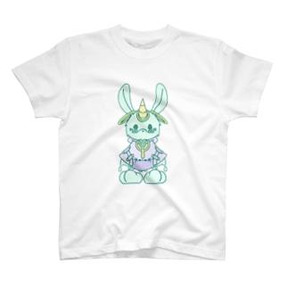 電波ウサギ T-shirts