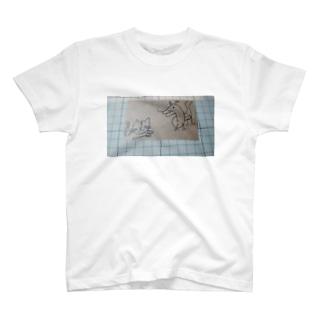 竜虎図 T-shirts