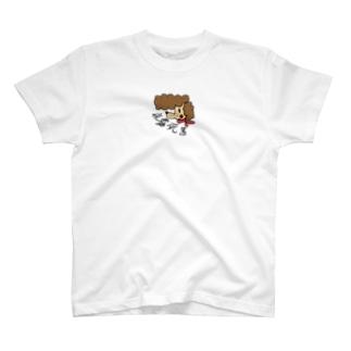 よろしく プードル T-shirts