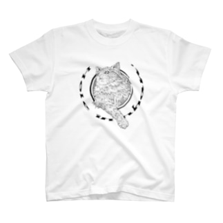ホール イン ニャン T-shirts
