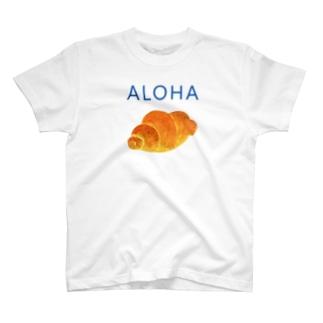六百田商店°(ろっぴゃくだしょうてん)のALOHA!ロールパン T-shirts