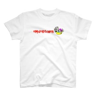 おばんざいやのロゴT T-shirts