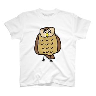 フクロウのFUKURO! T-shirts
