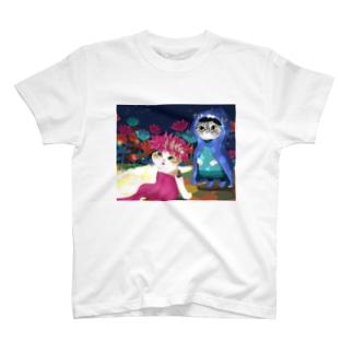 暗闇ドーム翠とミミ T-shirts