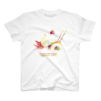 パフェ登山Tシャツ T-shirts