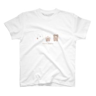変化するモコモカTシャツ(選べるTシャツカラー) T-Shirt