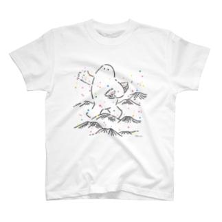 種をまく だいだらぼっち T-shirts