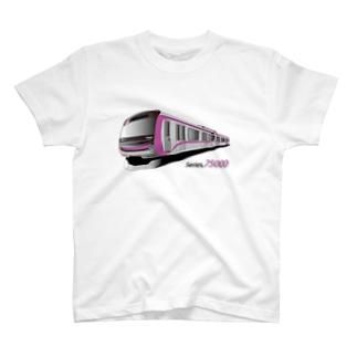 オリジナル車両75000系 T-shirts