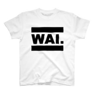 WAIT(ブラックロゴ) T-shirts