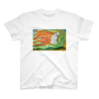 ハワイのマカニ T-shirts