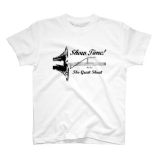 Show Time! -black- T-shirts