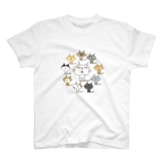 ねこまんだら T-shirts