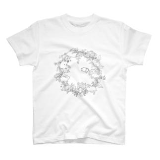 モルモットサークル T-shirts