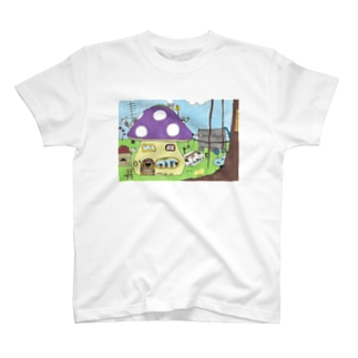 キノコの家 T-shirts
