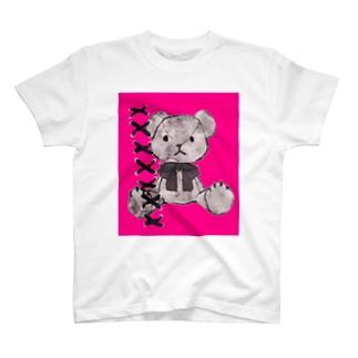 コラージュくまちゃん T-shirts