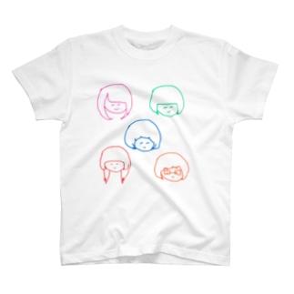 エビカニクル T-shirts