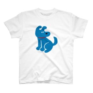 おすわりいぬ アオ T-shirts