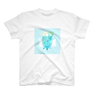 処暑のソーダ T-shirts