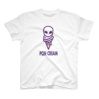ぽんクリーム T-shirts