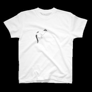 10-grove(Kidati)の【jump cat】 T-shirts