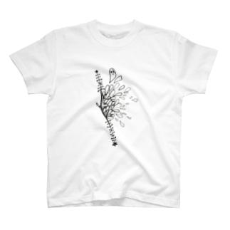 傷からとびでる霊 T-shirts