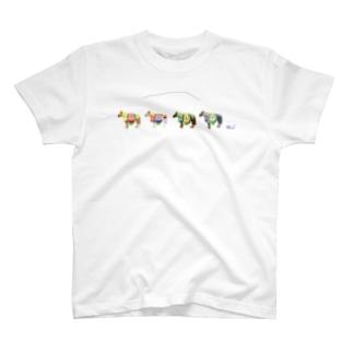 チャグチャグ馬コ T-shirts