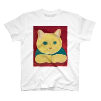 のっぴきならない/保護猫カール T-shirts