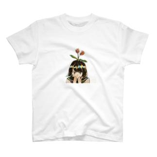 あほの花、咲く T-shirts