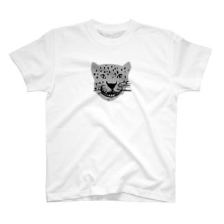 小ぶりなジャガー T-shirts