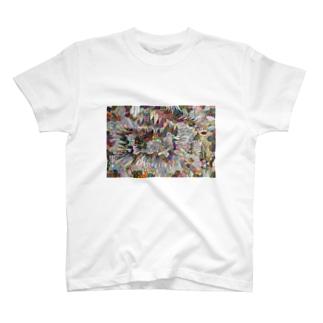 自分のためのぬり絵 その1 T-shirts
