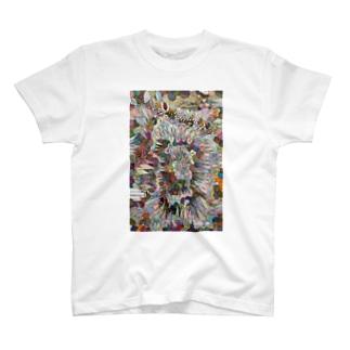 自分のためのぬり絵 その1の縦 T-shirts