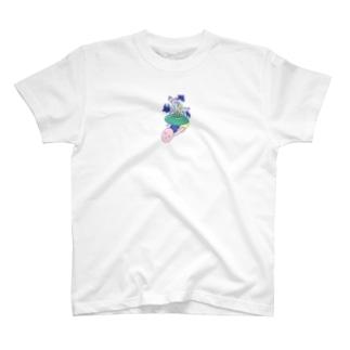 つかれたのでね、ちょっとはずしますね T-shirts