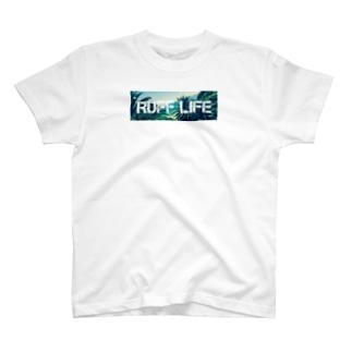 Ruff Life オリジナルフォト T-shirts